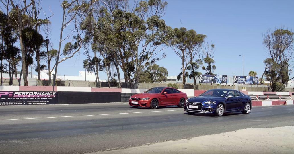 Audi一直都擁有不輸BMW的高性能。 截自Cars.co.za影片
