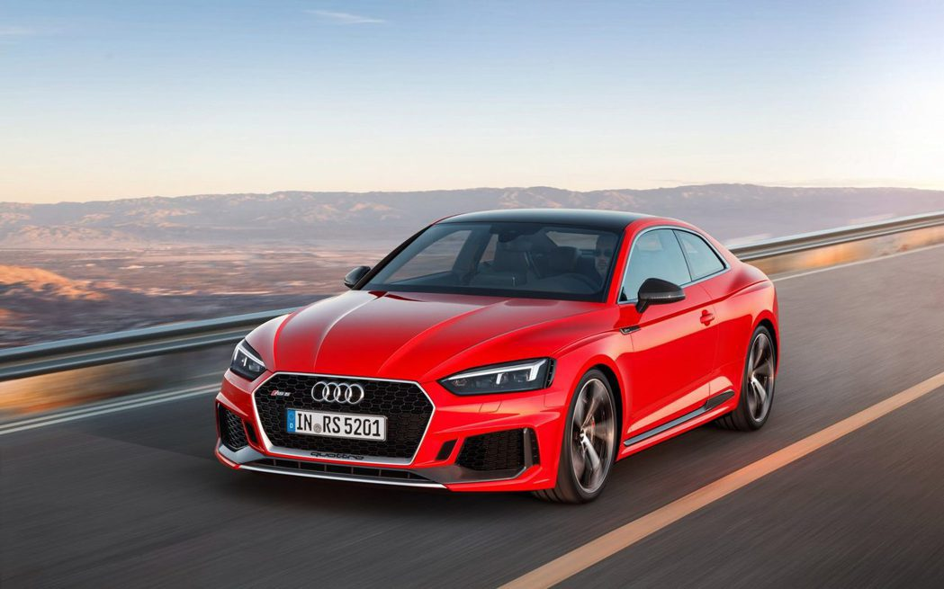 Audi RS5 Coupe。 摘自Audi