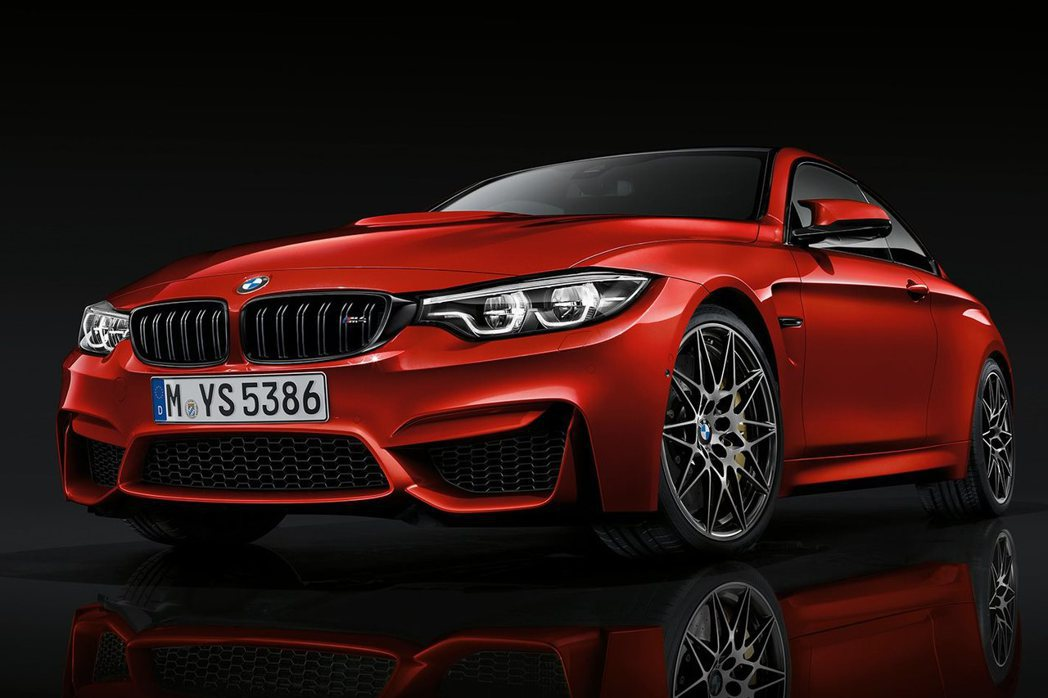 BMW M4 Competition。 摘自BMW
