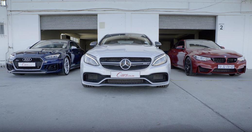 德系Coupe三雄,決戰光明頂。 截自Cars.co.za影片