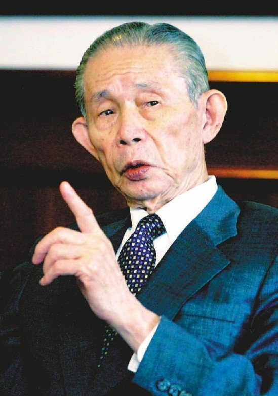 台塑集團創辦人王永慶。報系資料照