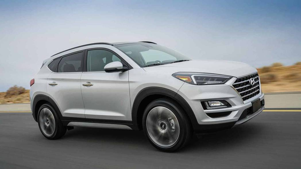 2019年式的美規版Hyundai Tucson取消渦輪引擎。 摘自Hyunda...