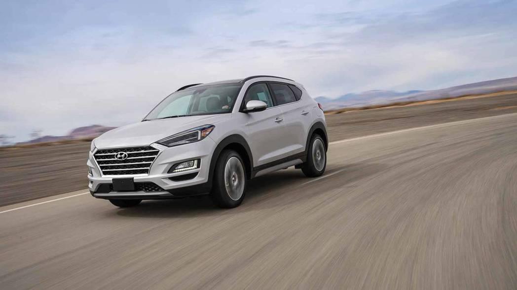 圖為2019年式、小改款Hyundai Tucson。 摘自Hyundai