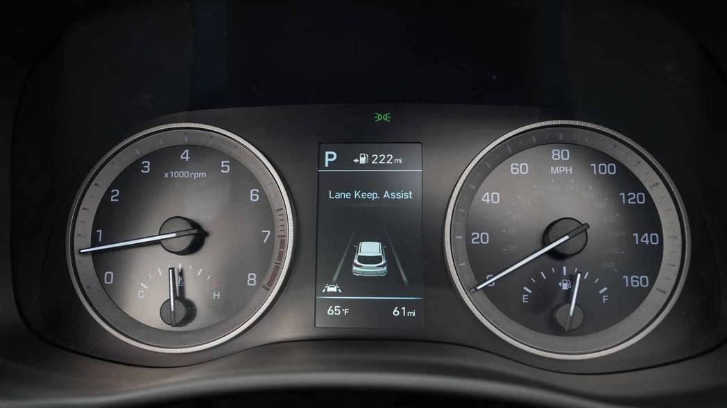 小改款Tucson也增加多項主動式安全配備。 摘自Hyundai
