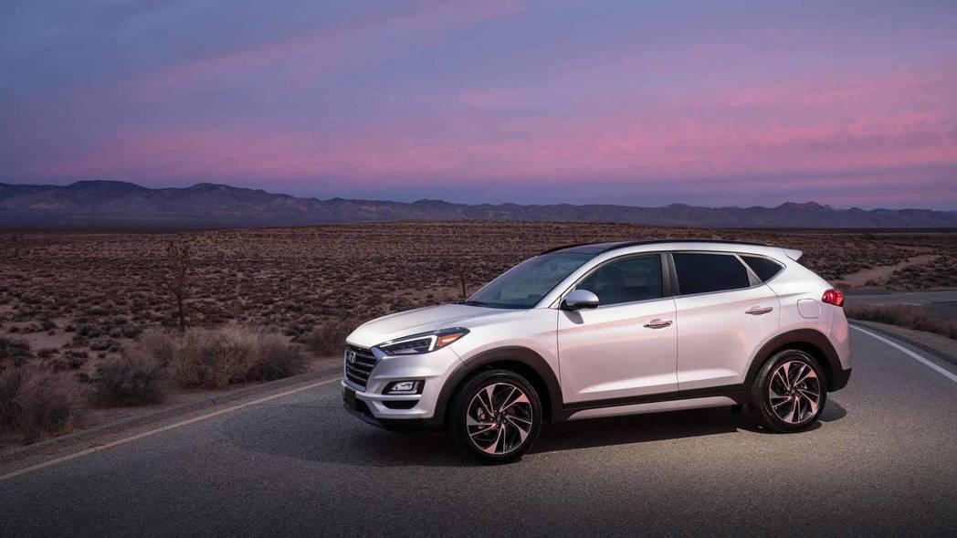 美規Hyundai Tucson將在今年秋季於全美上市,不過歐規版則搶先在夏天發...
