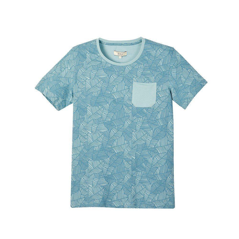 Aigle男款快乾短袖T恤,約2,800元。圖/Aigle提供