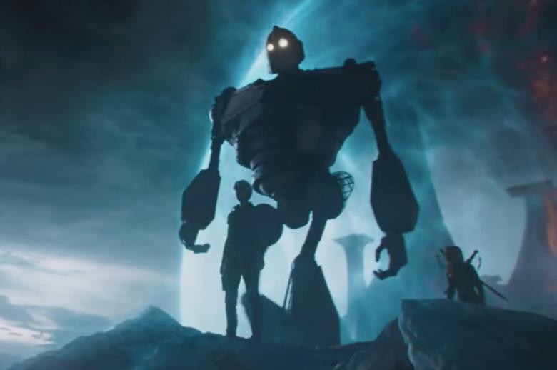 「一級玩家」裡的鐵巨人,相當搶眼。圖/摘自IndieWire