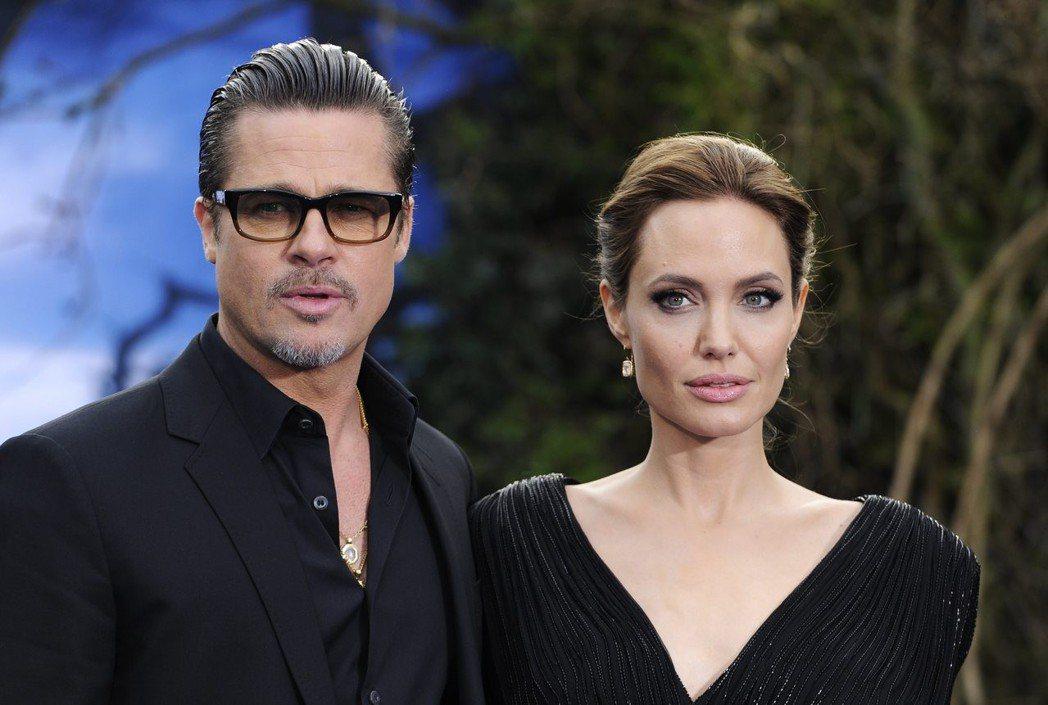 布萊德彼特與安琪莉娜裘莉據傳已談妥離婚協議。圖/歐新社資料照