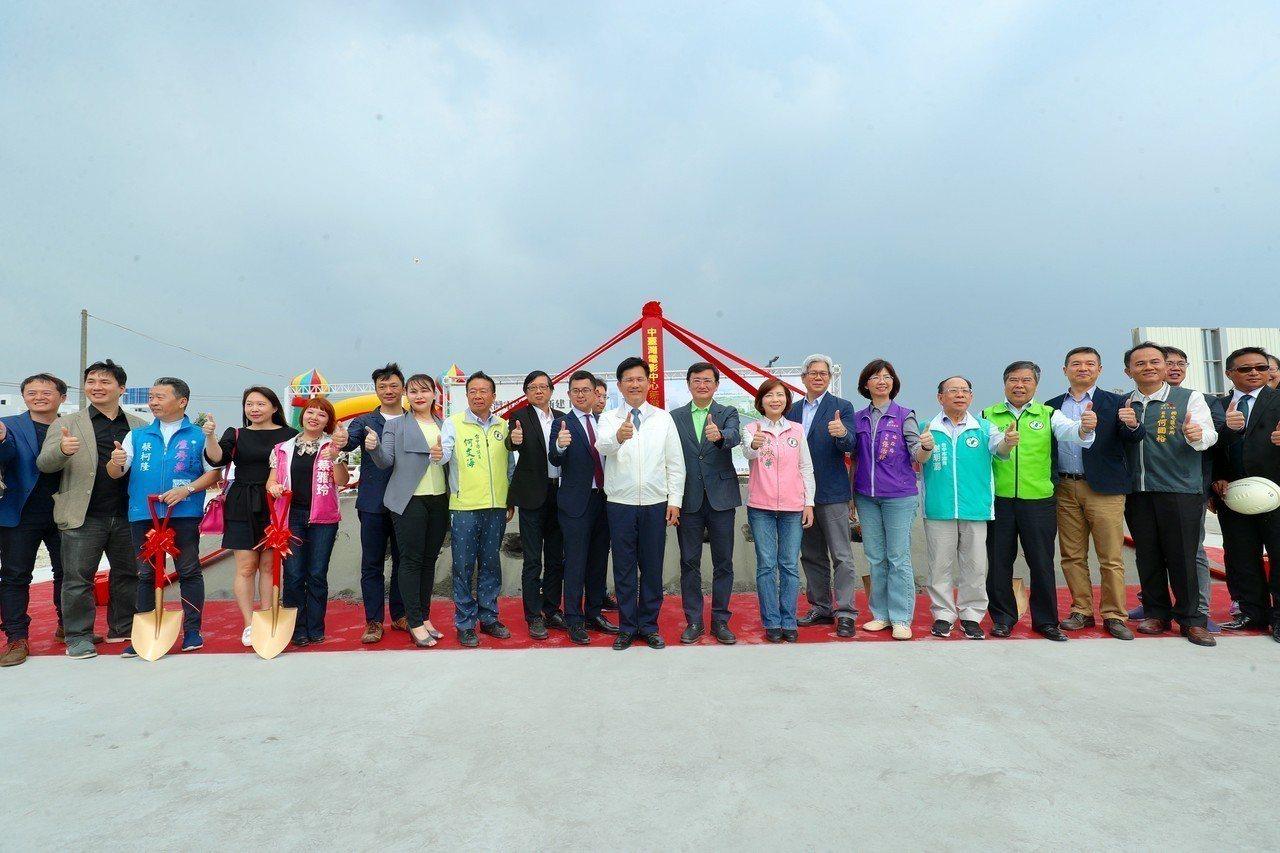 中台灣電影中心動土,109年底完工。圖/台中市新聞局提供