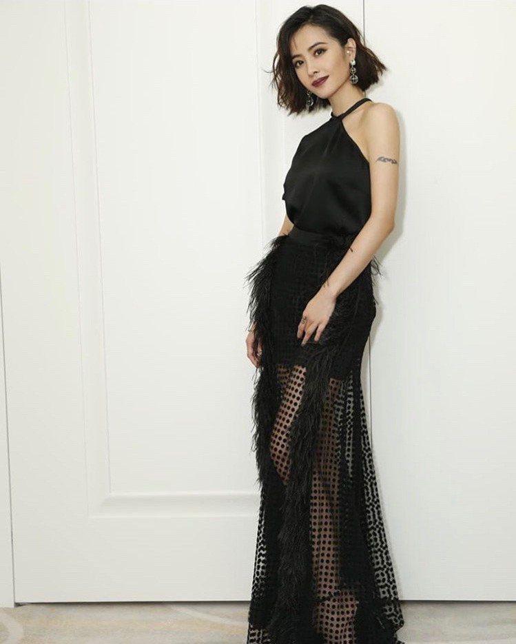 蔡依林上個月出席米其林晚宴也選擇配戴Atelier Swarovski 的設計師...