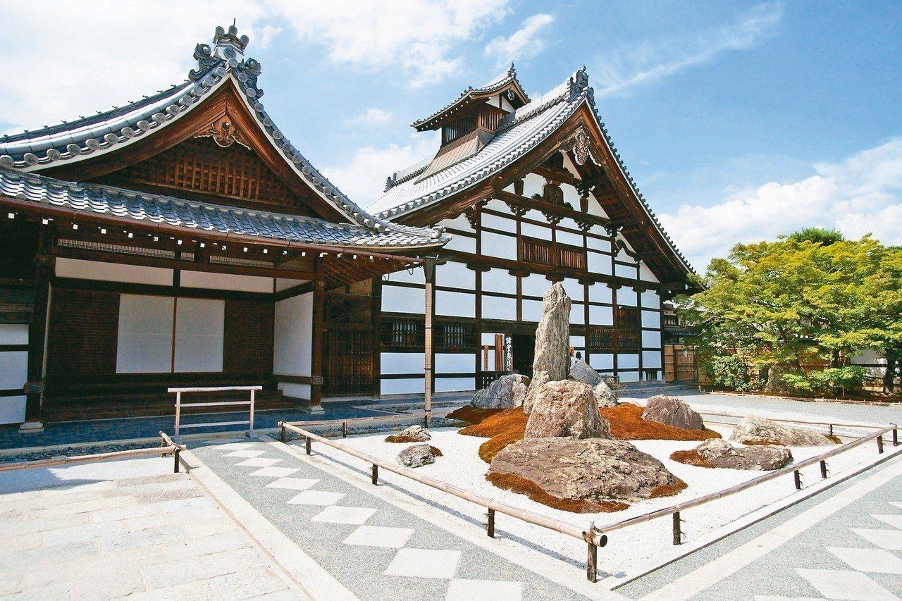 天龍寺有近700年歷史,是為祭祀天皇所創建。 圖/有行旅提供