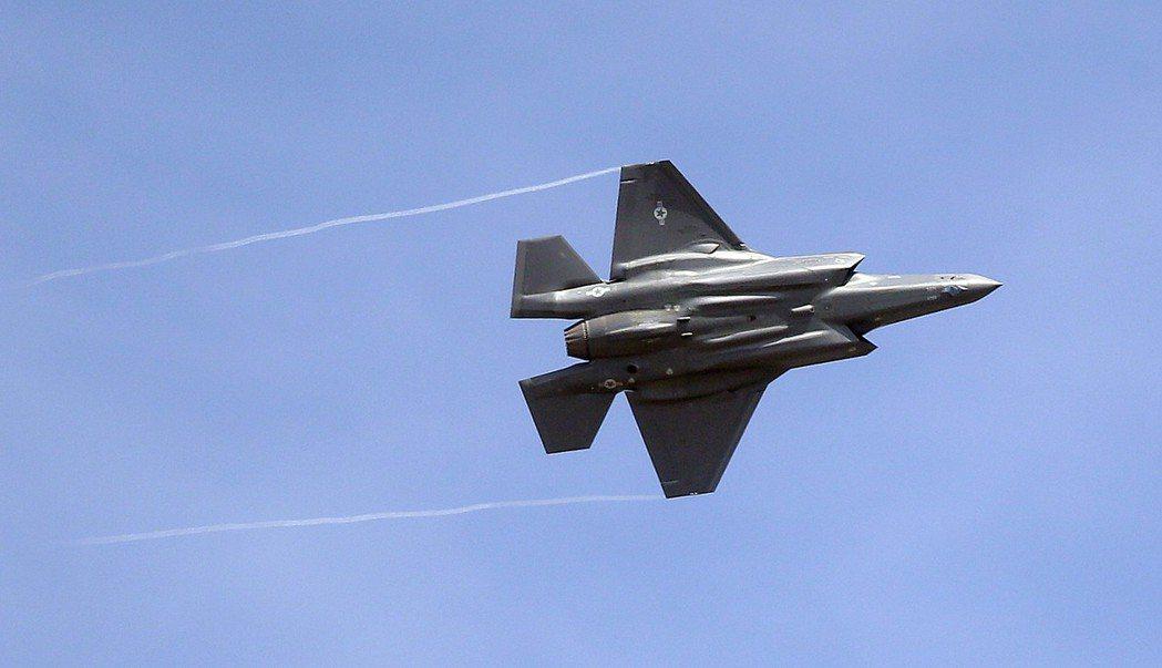 美F-35戰機。 美聯社