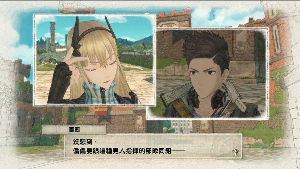 雖為鋼烈的軍事策略遊戲,但角色間的故事也是女武神系列的賣點之一。