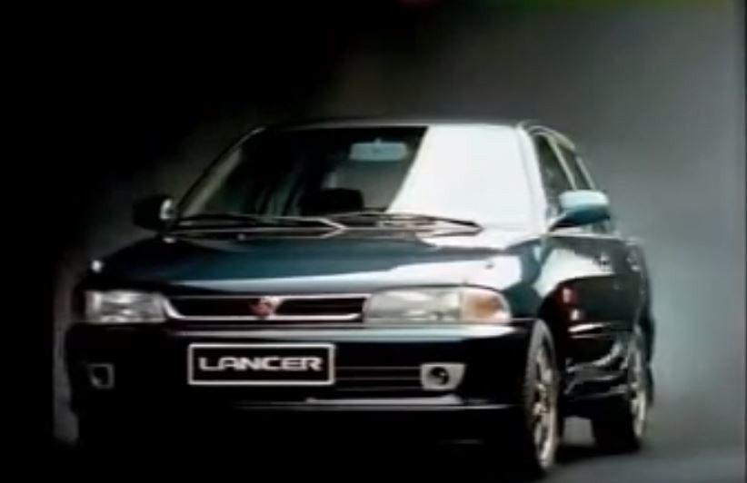 1994 MITSUBISHI LANCER Exceed 頂級菱帥。 摘自Yo...