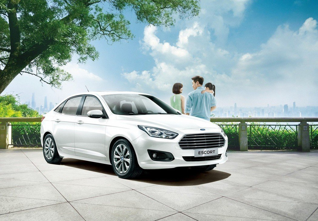 安全家庭房車Ford Escort。圖/福特六和提供