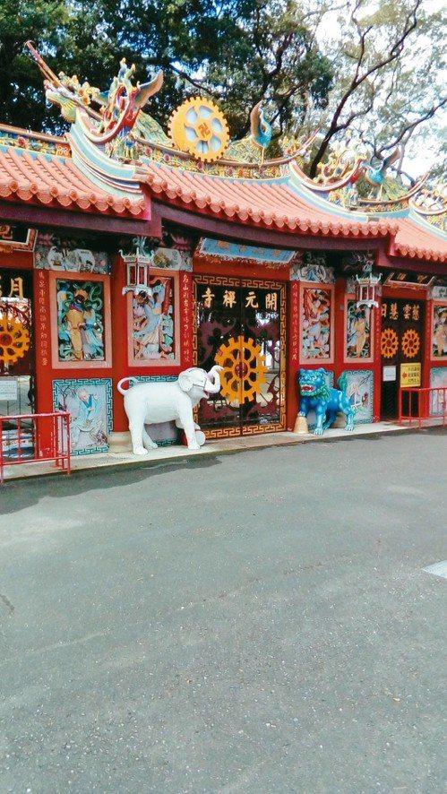 台南開元寺。 圖片提供/馬森