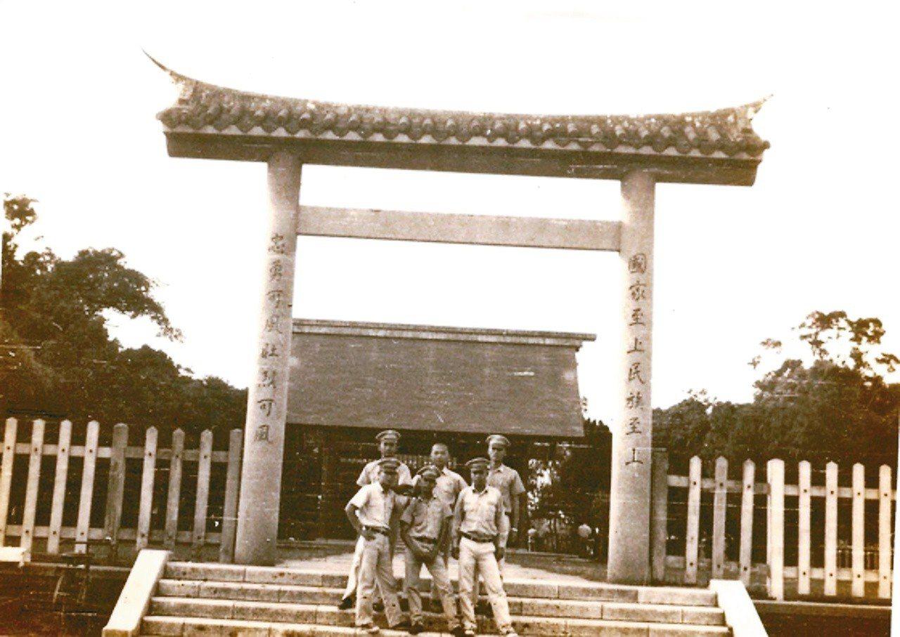 新營神社舊貌。