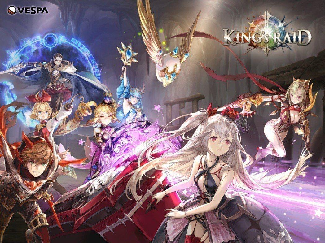 豐富的角色是《King`s Raid》深受玩家喜愛的原因之一。