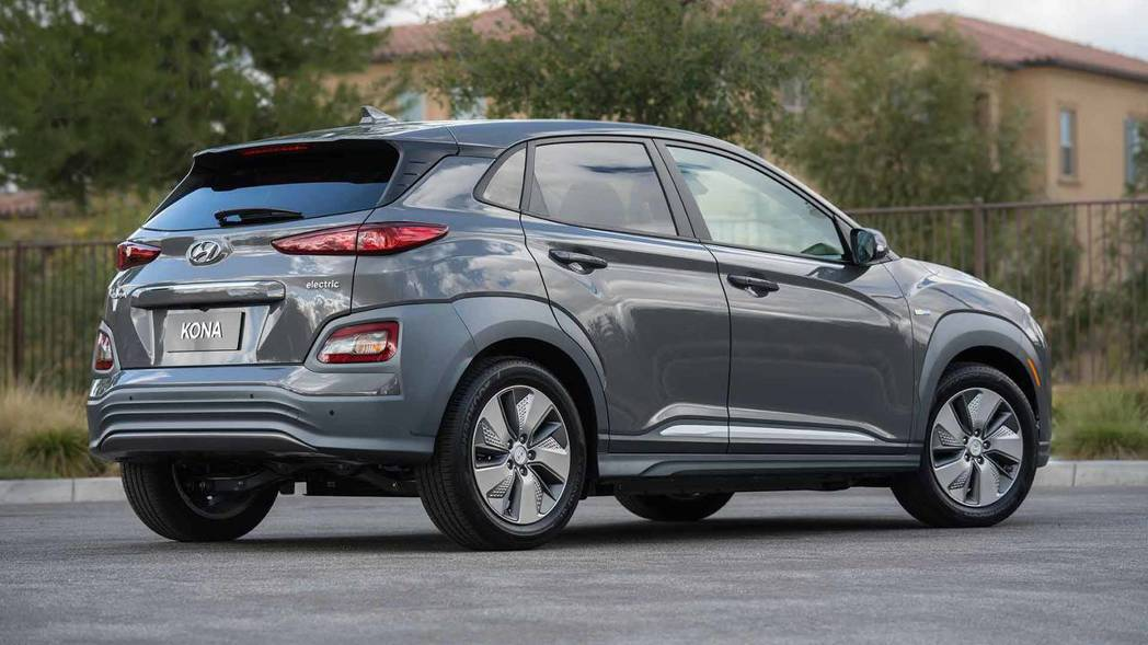 圖為Hyundai Kona Electric。 摘自Hyundai