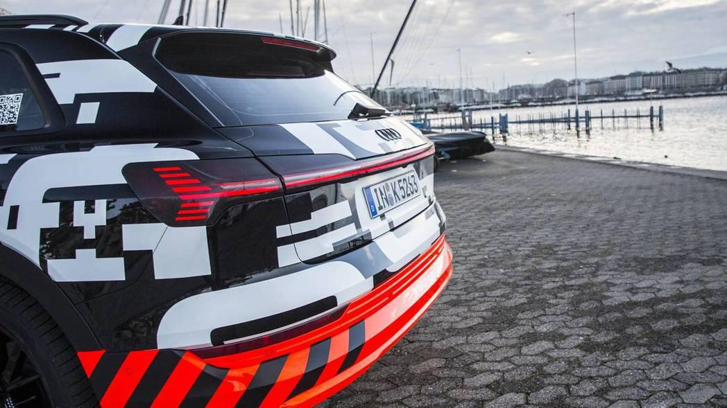 Audi e-tron 將於8月30日正式發表。 摘自Audi