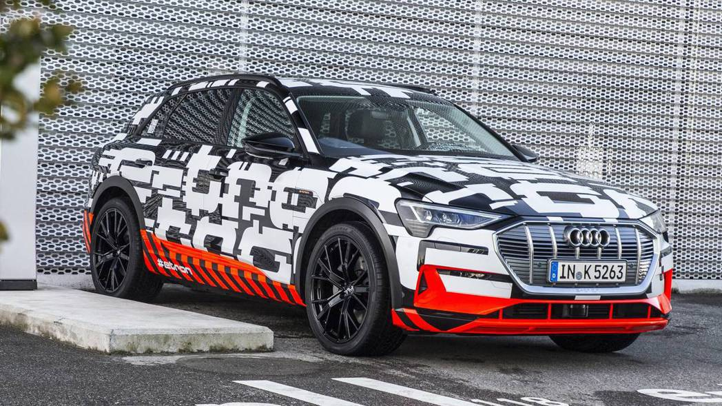 圖為Audi e-tron prototype。 摘自Audi
