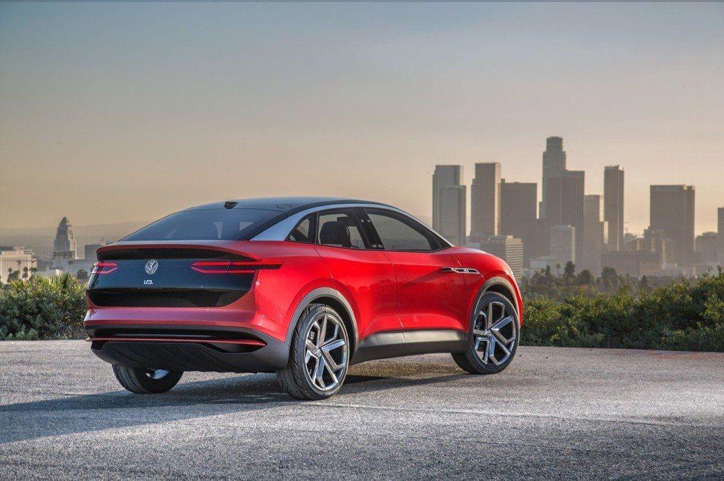 圖為Volkswagen I.D. Crozz Concept。 摘自Volkswagen