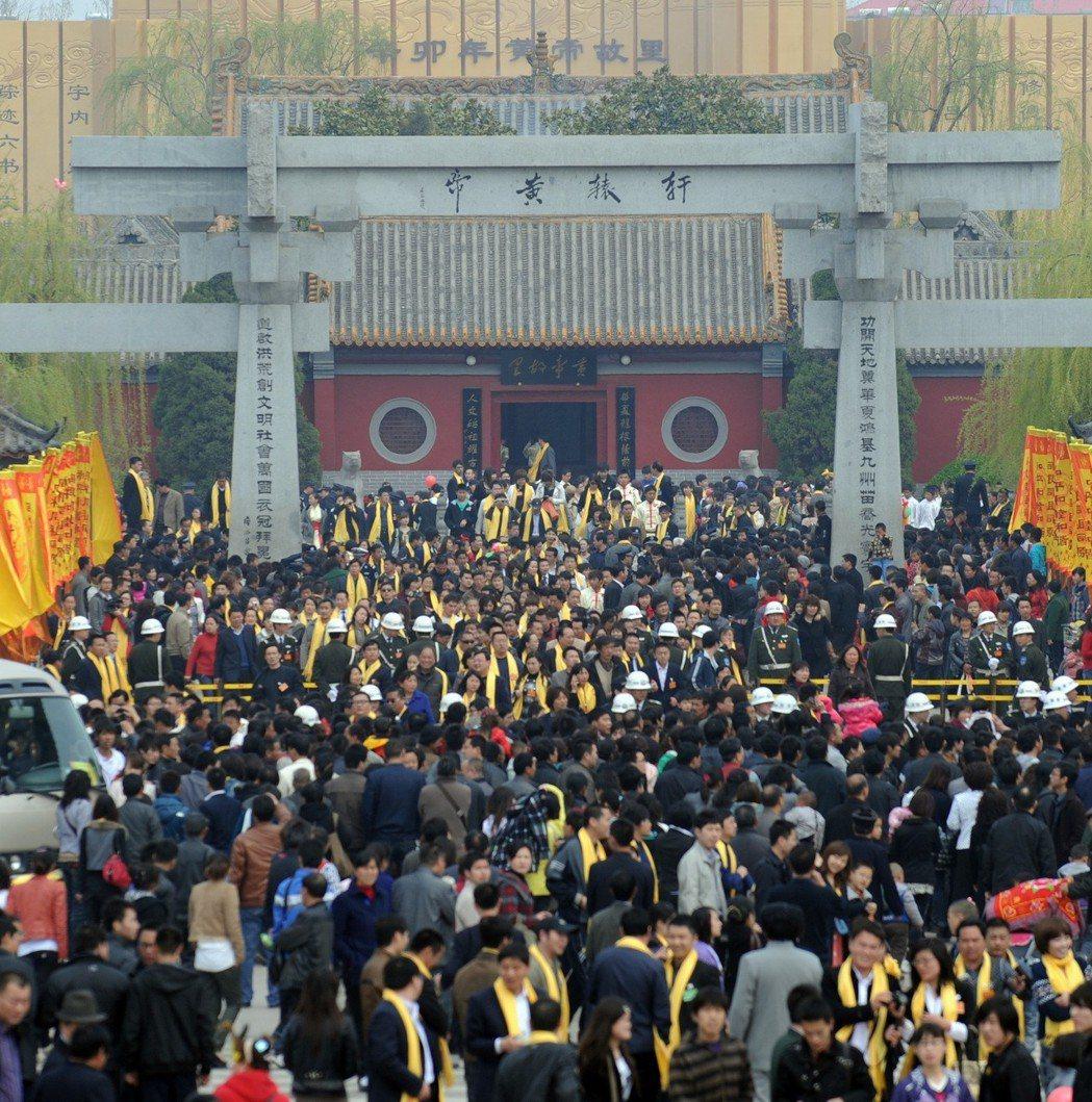 2011年4月5日(時值農曆3月3日)河南新鄭也舉辦公祭黃帝的活動。史料記載,河...