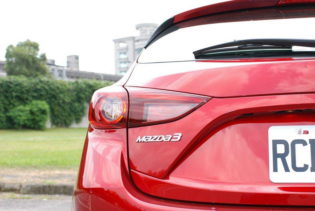 此次試駕的車型為18年式 Mazda3 五門旗艦型。 記者林鼎智/攝影