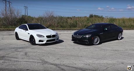 (影音) 改裝BMW M6對上Alpina B6!都是600匹的怪獸