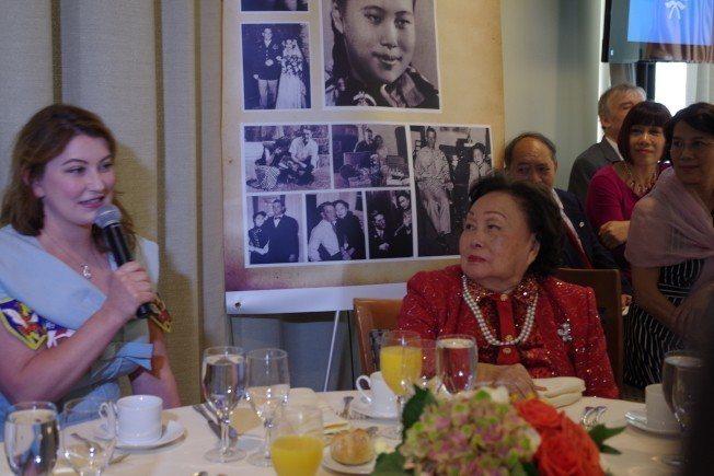 陳香梅的92歲壽宴在紐約聯合國舉行。(本報檔案照)