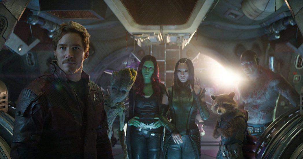 「星際異攻隊」也加入「復仇者聯盟3:無限之戰」。圖/摘自imdb