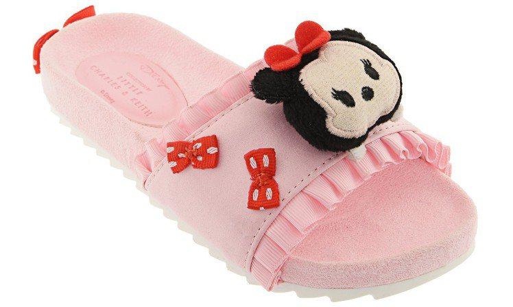 米妮風格拖鞋850元,圖/CHARLES & KEITH提供
