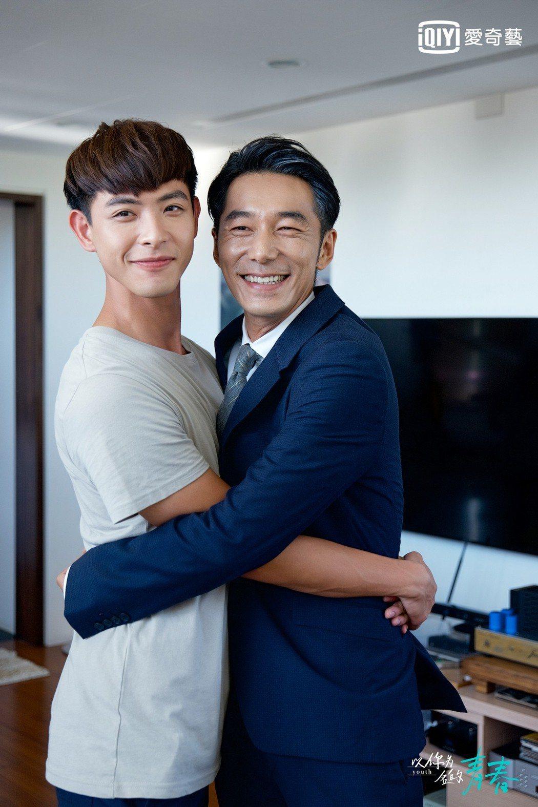 連晨翔(左)與李李仁私下交情好。圖/愛奇藝台灣站提供