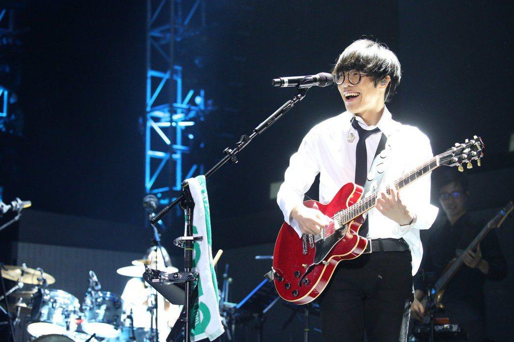 盧廣仲上周末連兩天在香港舉辦春季世界巡迴演唱會。圖/添翼提供
