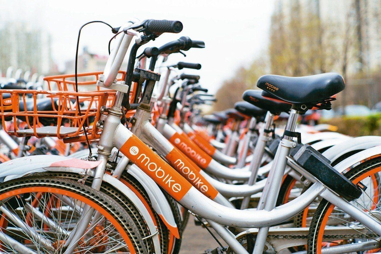 摩拜單車2015年創立至今,擁有超過2億用戶。 中新社