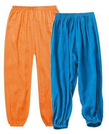 涼感透氣防蚊燈籠褲。 生活市集/提供