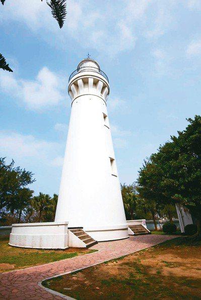 桃園市府在農博會期間,推出9條旅遊行程,圖為白沙岬燈塔。 桃園觀旅局/提供