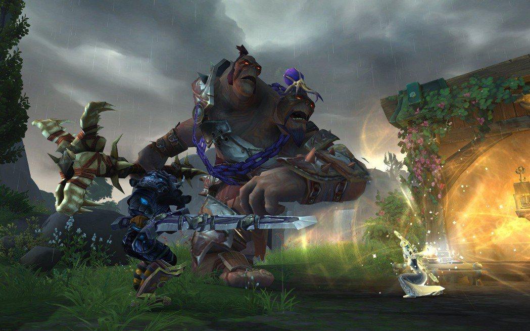 《魔獸世界 決戰艾澤拉斯》斯陀頌恩谷地遊戲畫面