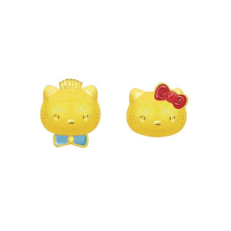 Hello Kitty & Daniel系列耳環,15,600元。圖/鎮...