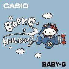 卡西歐再次與風靡全球的Hello Kitty聯名推出BABY-G特別限量系列。圖...