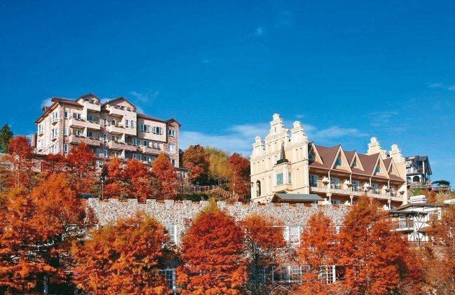 清境佛羅倫斯度假山莊是台灣山居歐風建築的代表作之一。 圖/佛羅倫斯提供