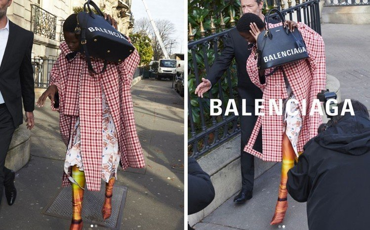 Balenciaga 2018春季形象廣告。圖/擷自instagram