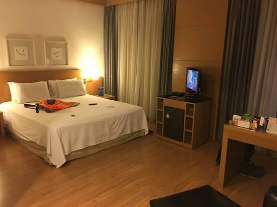 ↑雖然不是最頂尖的飯店,但是這樣的房間我絕對可以