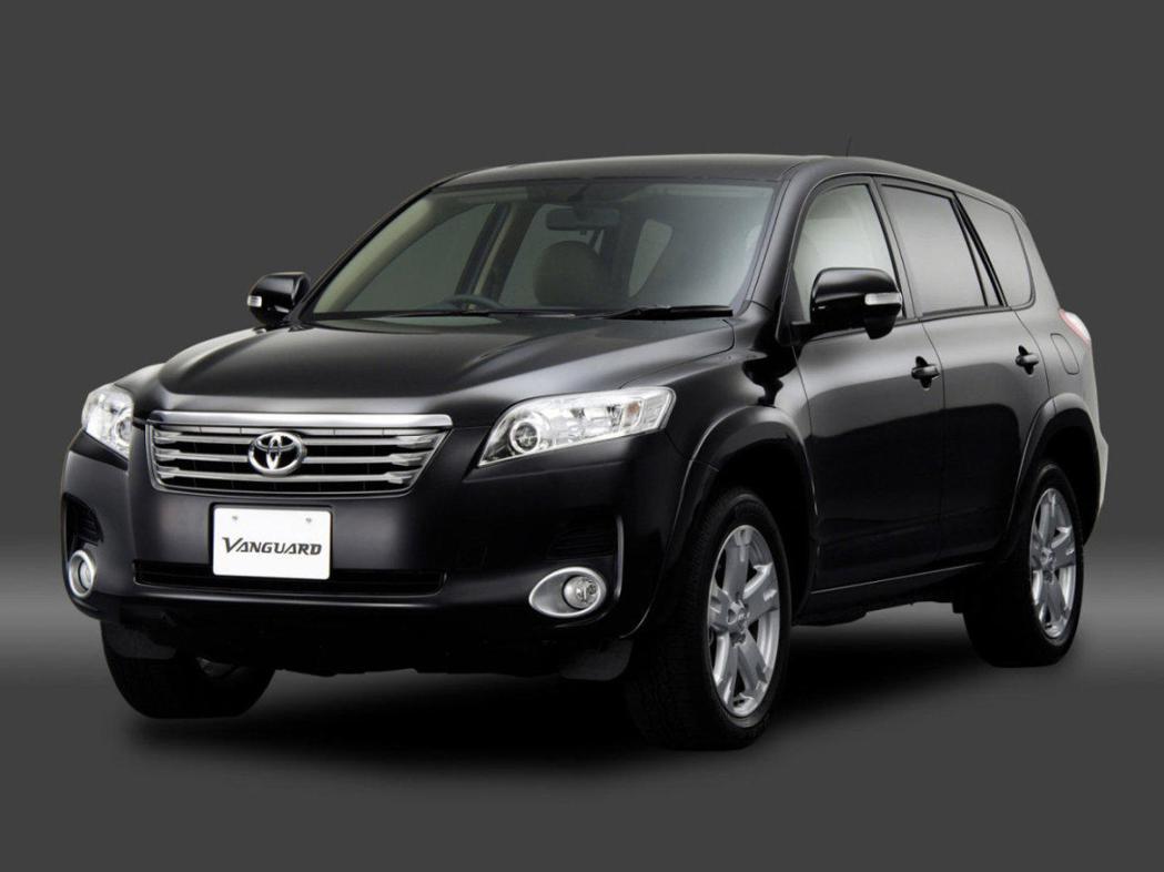 圖為Toyota Vanguard (七人座RAV4)。 摘自網路