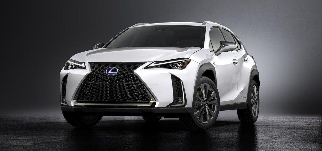 全新Lexus UX在今年的日內瓦車展上正式發表。 摘自Lexus