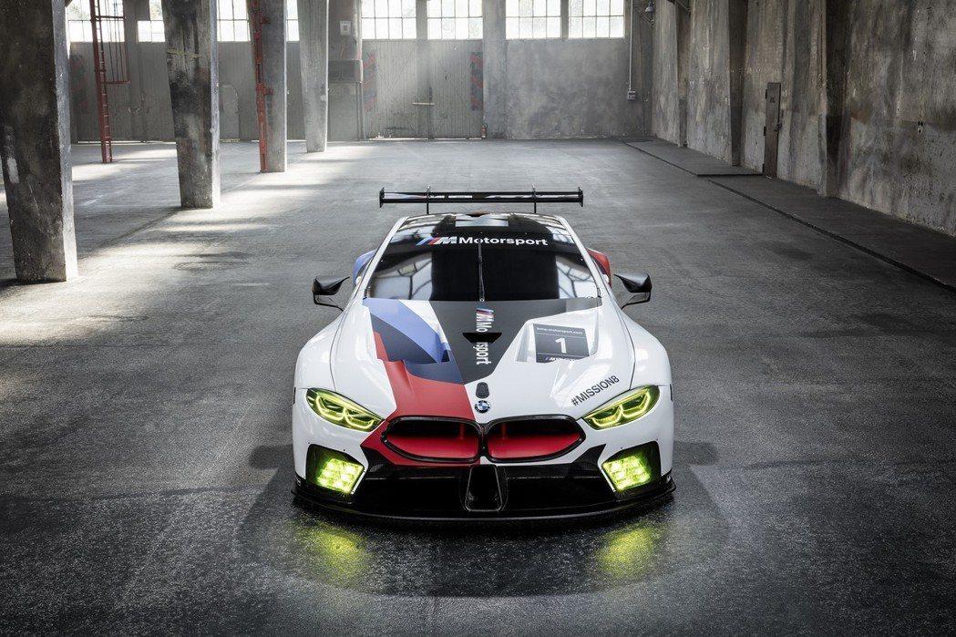 圖為BMW M8 GTE。 摘自BMW