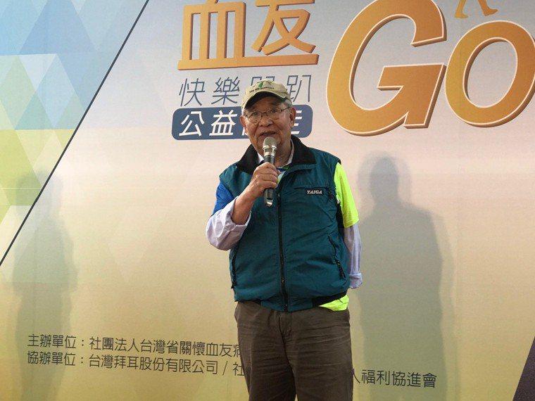 血友病之父、台大醫學院名譽教授沈銘鏡說,今日的血友病已如同高血壓、糖尿病等慢性病...