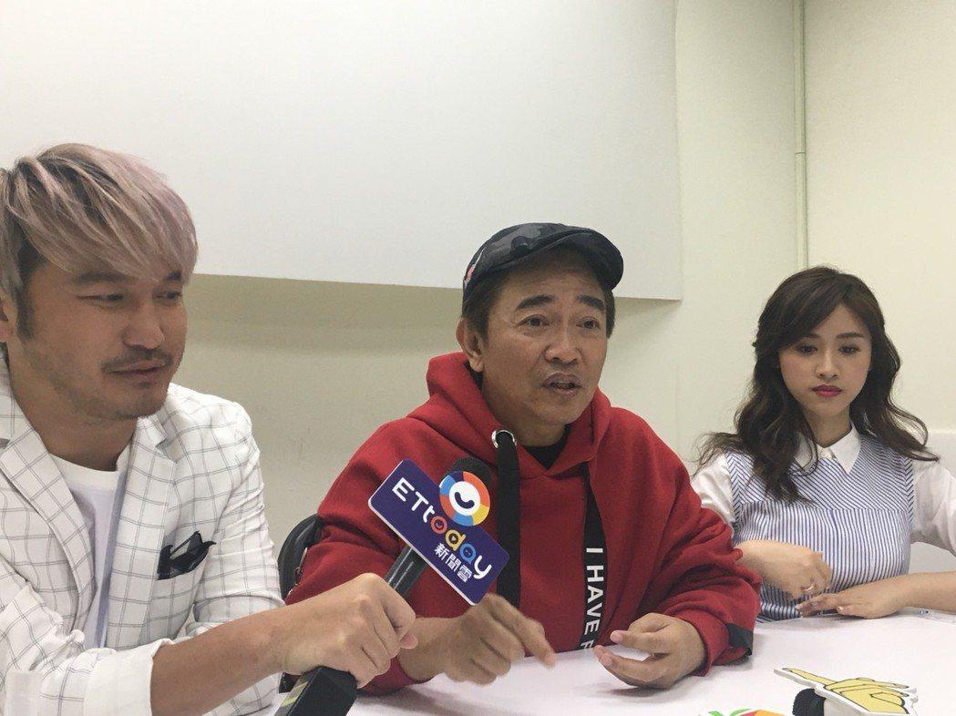 吳宗憲講到中午與兒子通話。記者李姿瑩/攝影