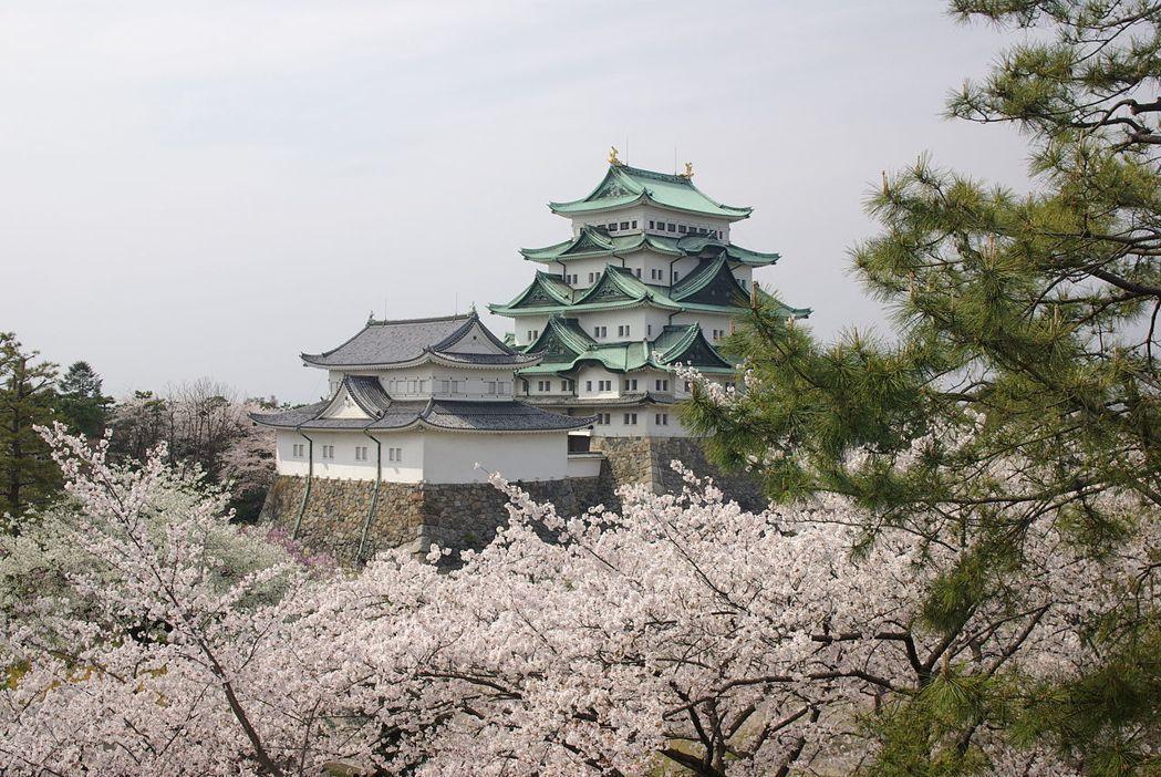 日本三大名城之一的名古屋城。圖/摘自維基百科