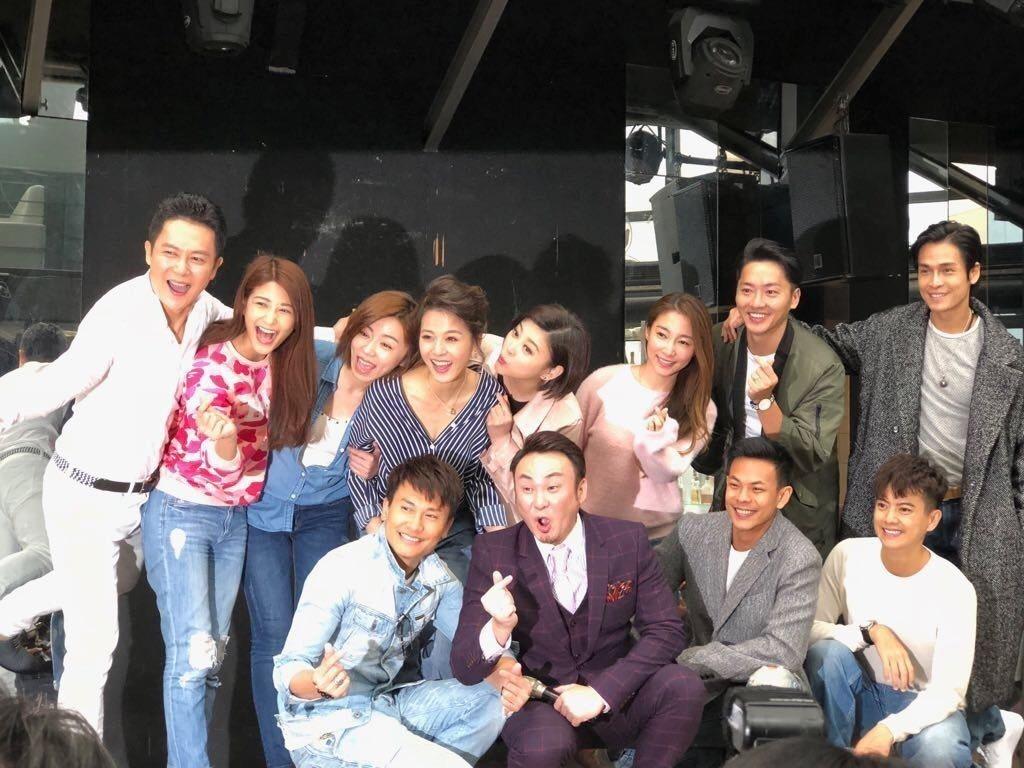 蘇晏霈過生日,「幸福來了」劇組演員幾乎全員到齊。圖/民視提供